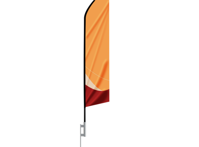 Econo Feather flag at freedom creative solutions