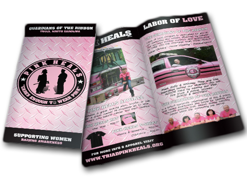 PINK HEALS digital brochures