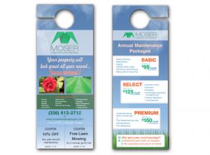 4.25″x11″ High Gloss UV Door Hangers
