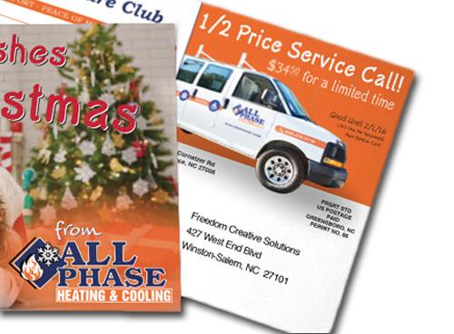 premium matte post cards freedom creative solutions