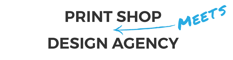 Print Shop mets Design agency freedom creative solutions