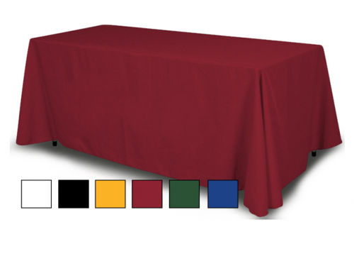 solid color table throw at freedom creative solutions