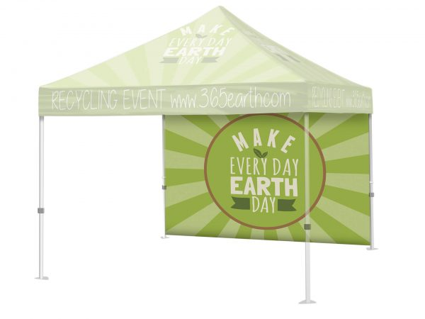 tent with full wall