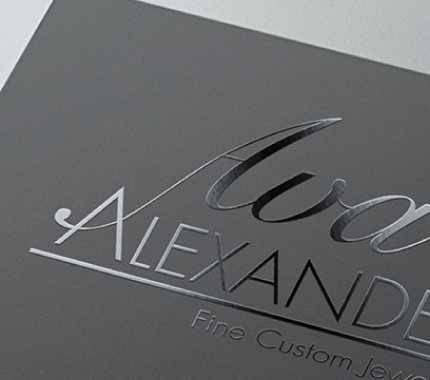 ava alexander business cards