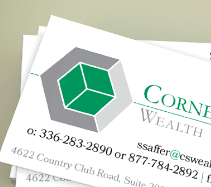 cornerstone business cards