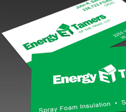 energy temers business cards