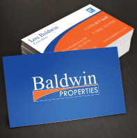 baldwin properties business cards