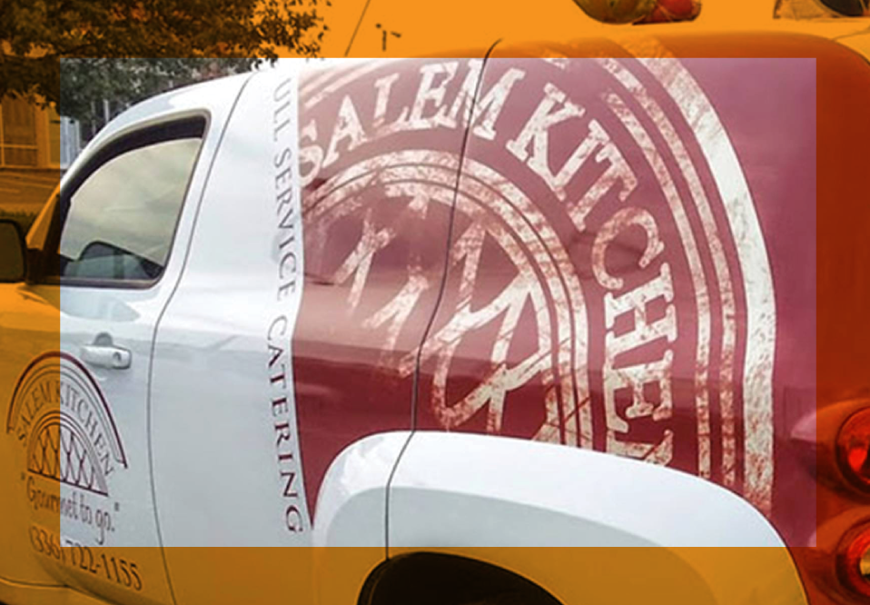 Salem kitchen vehicle wraps