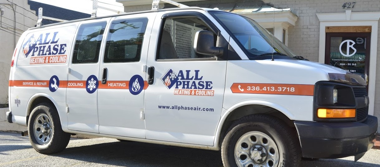 allphase_heating_cooling_hvac_van_left_side_view_vehicle_wrap