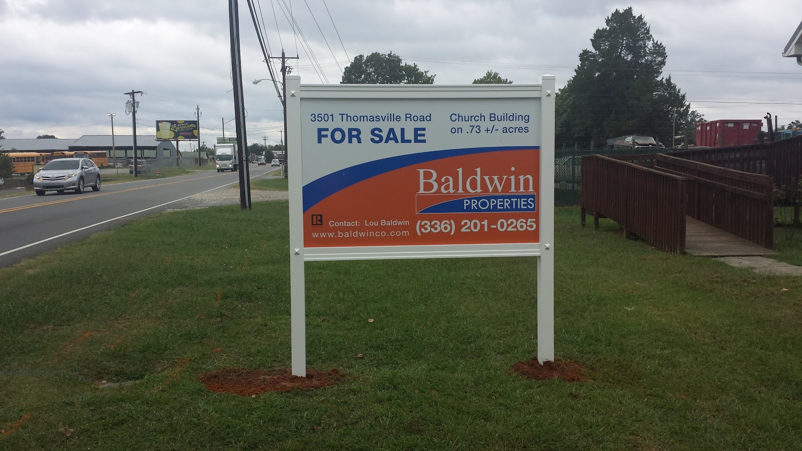 baldwinco office sale signage