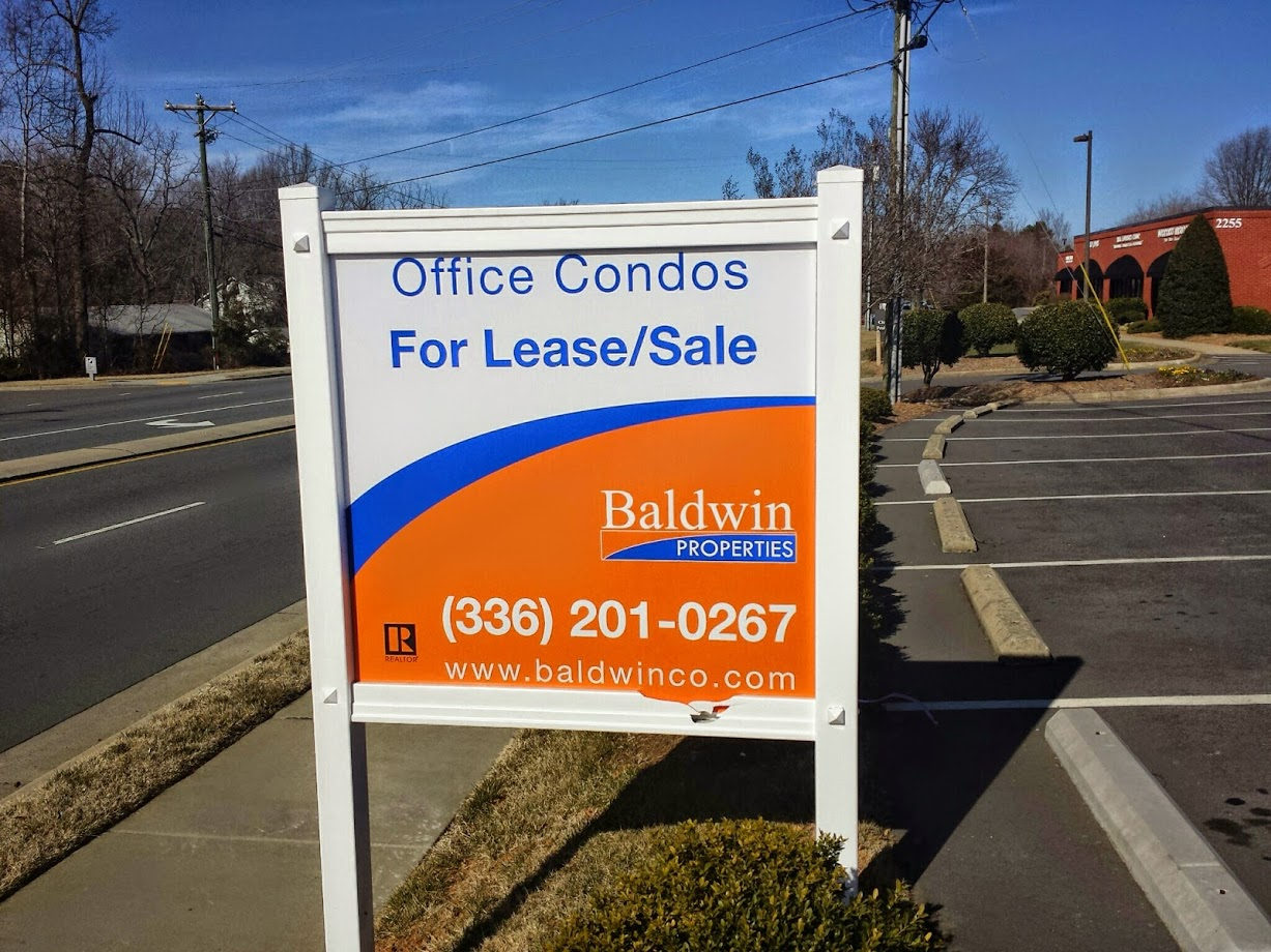 baldwinco office lease signage