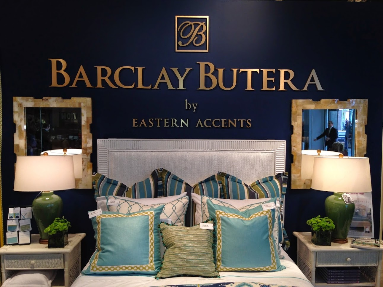 barclay butera dimensional letter wall graphics