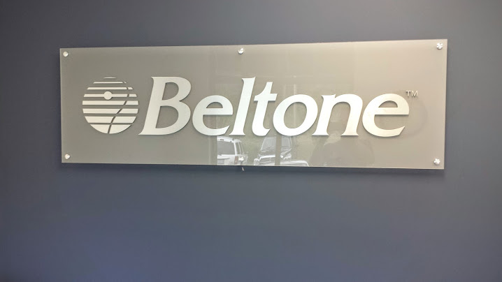 beltone signage wall display