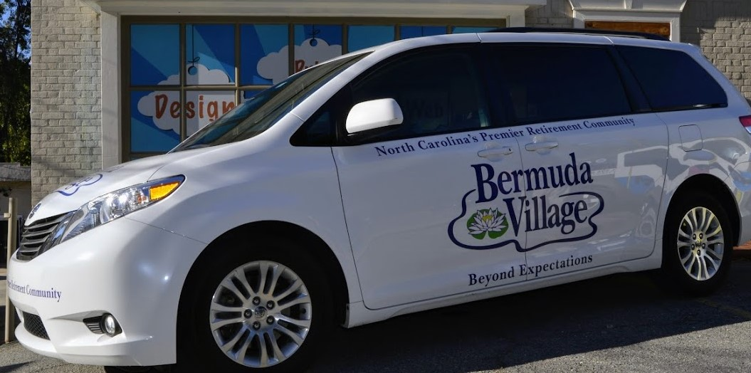 bermuda_village_beyond_expectations_retirement_community_suv_right_side_view_vehicle_wrap