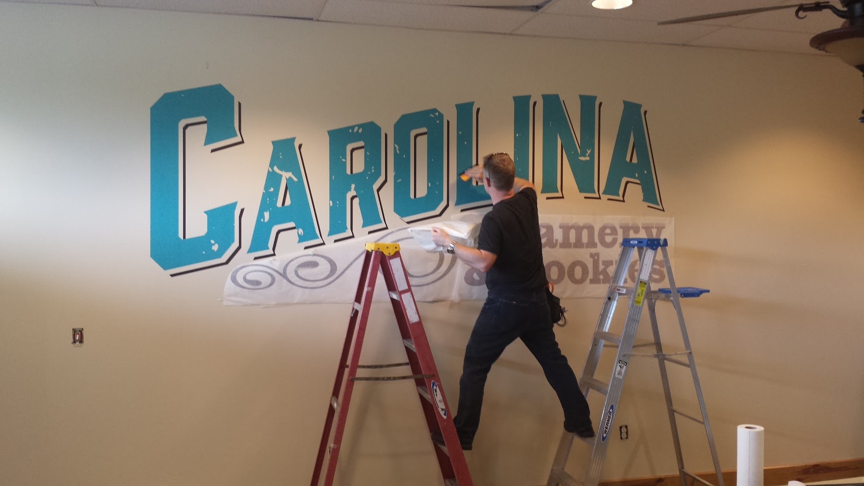 carolina creamery cookies wall graphics