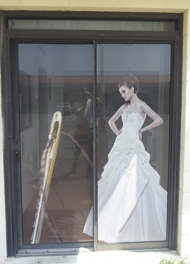 craft dry cleaners window door graphics
