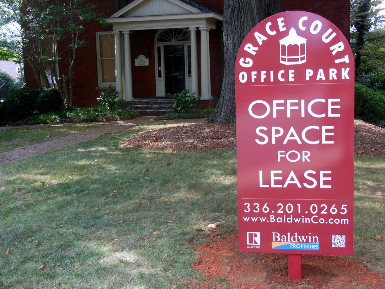 grace court office park Signage