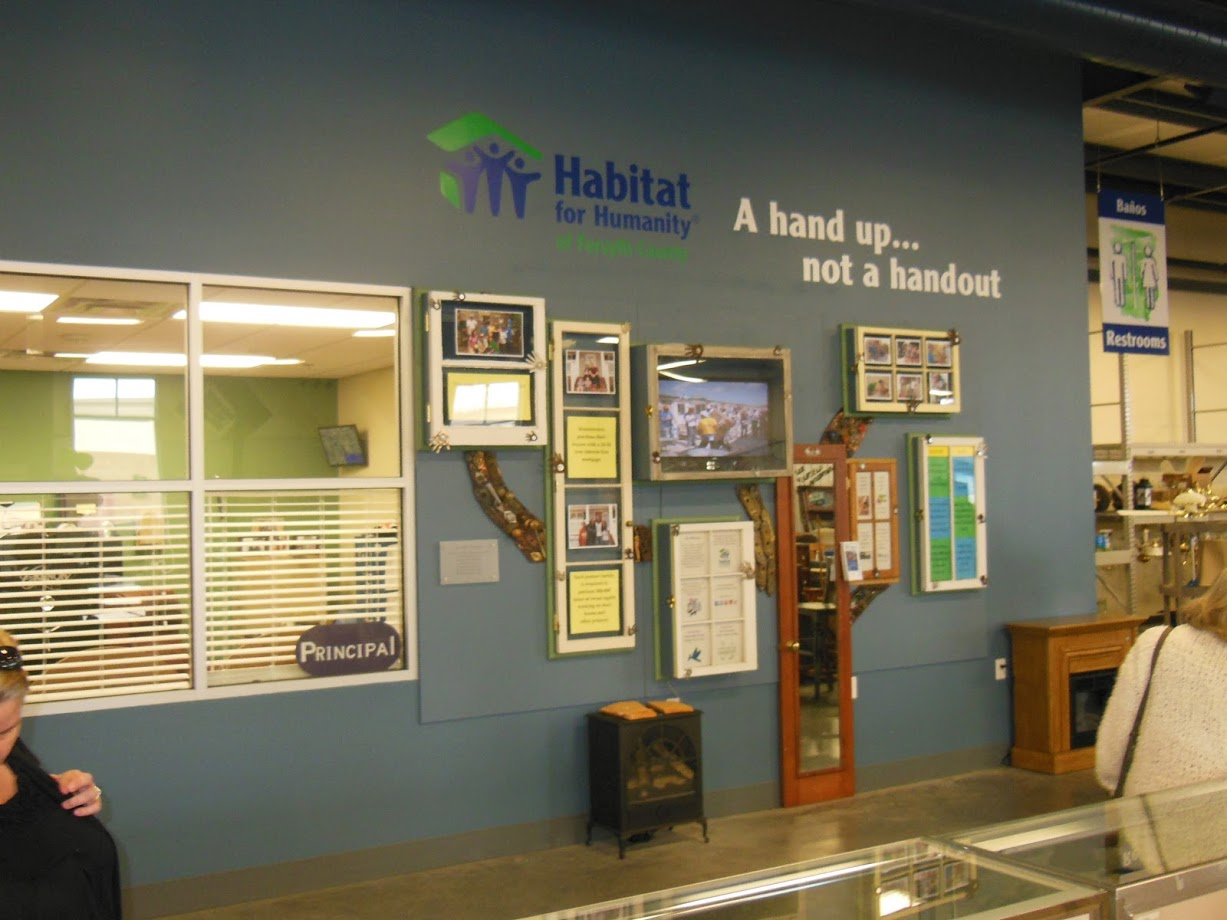 habitat for humanity wall signage