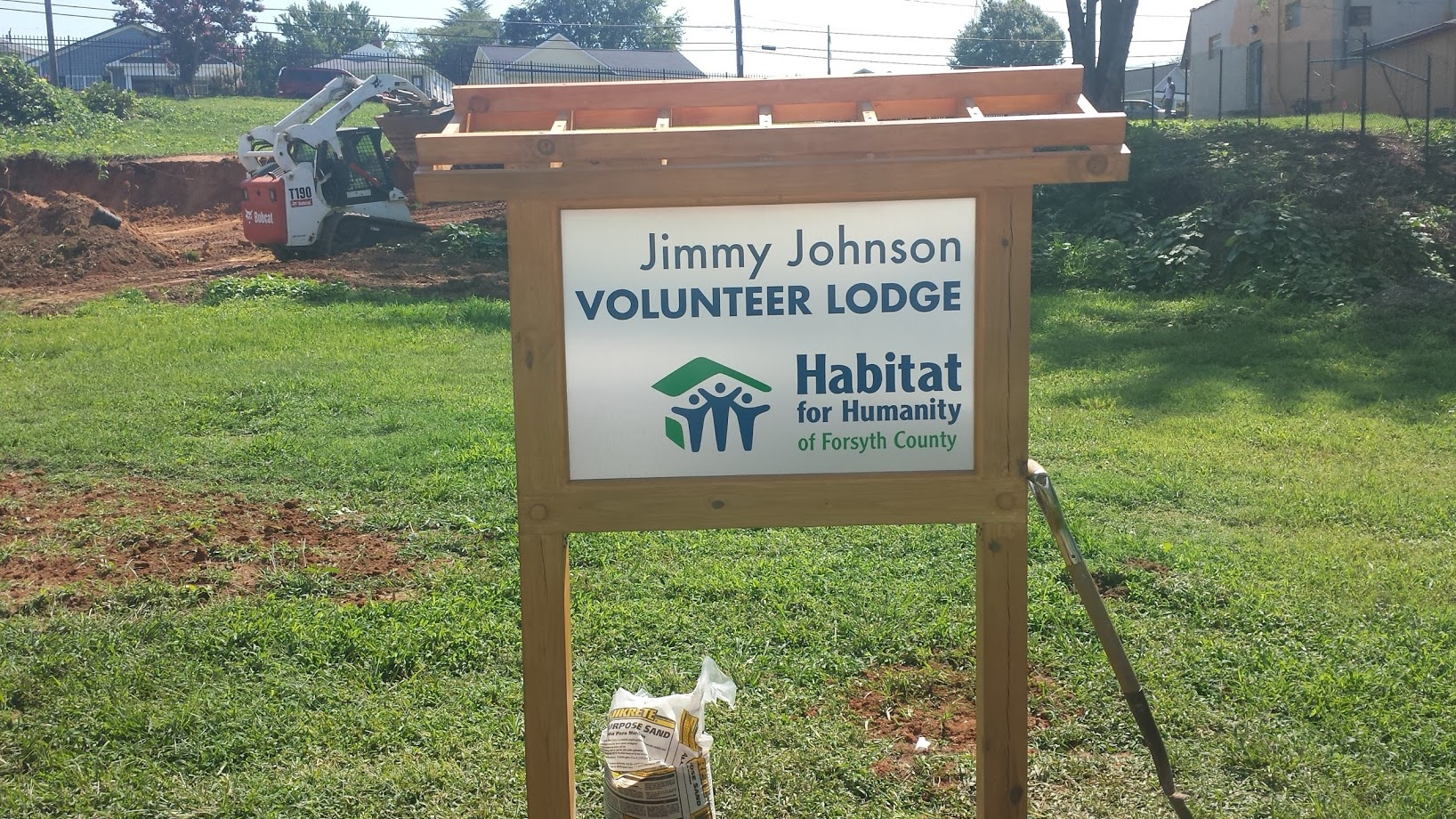jimy johnson volunteer lodge signage
