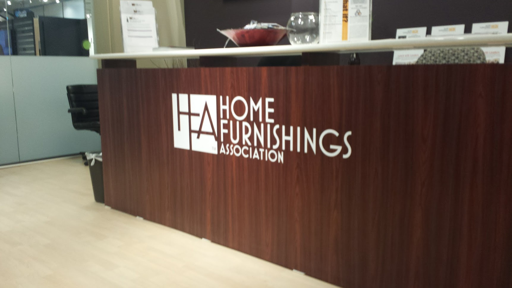 home furnishings association vinyl graphics