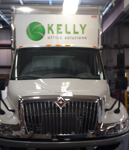kelly-office-solutions-truck-vehicle-front-view-wrap
