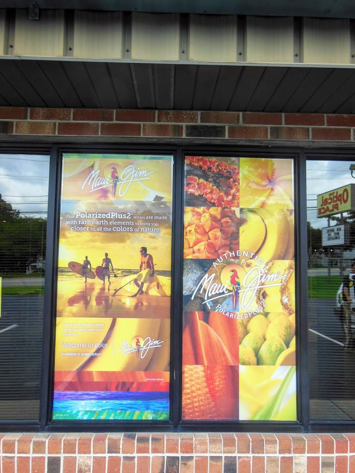 maui jim lenses window graphics display