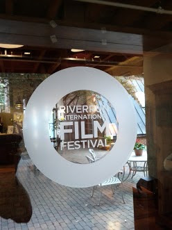riverrun film festival door graphic viny