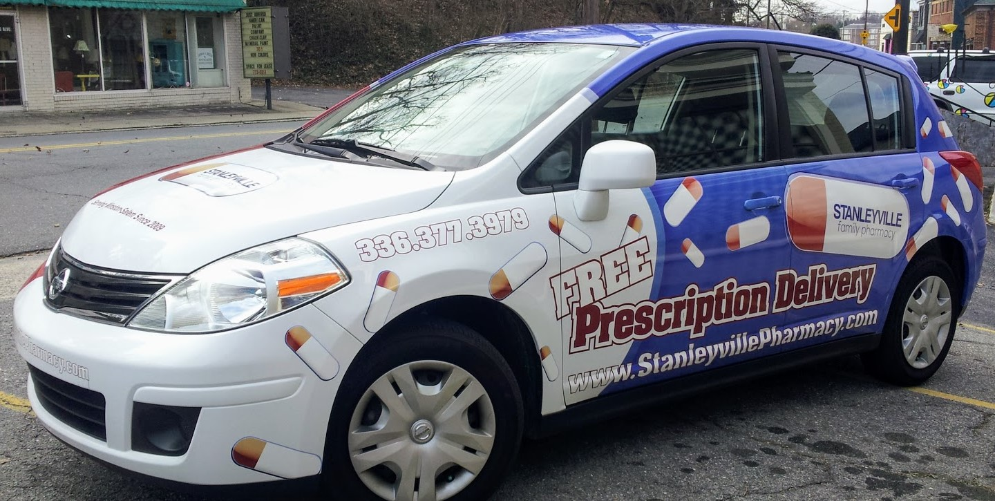 stanleyville_pharmacy_prescription_delivery_vehicle_wrap
