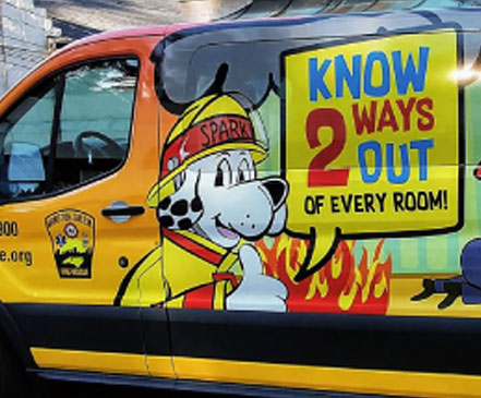 city ws fire vehicle wraps