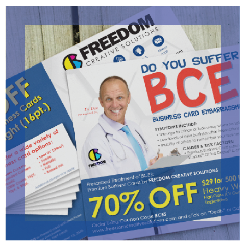 direct mailing clients business by freedom creative solutions