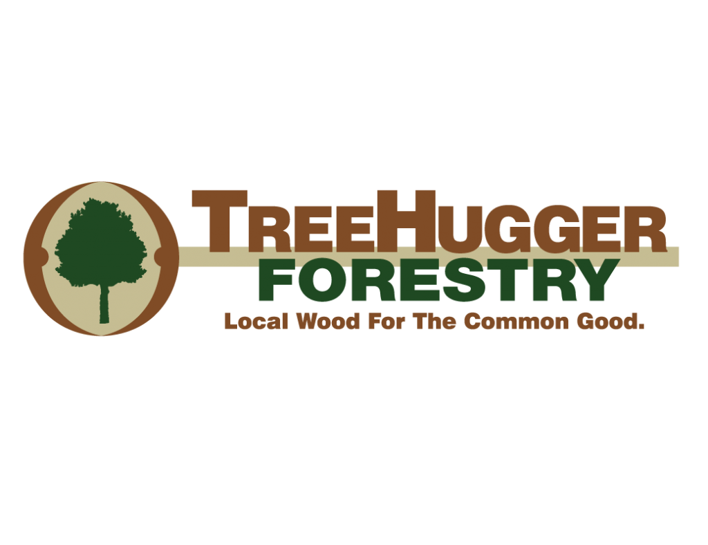 tree hugger forestry logo