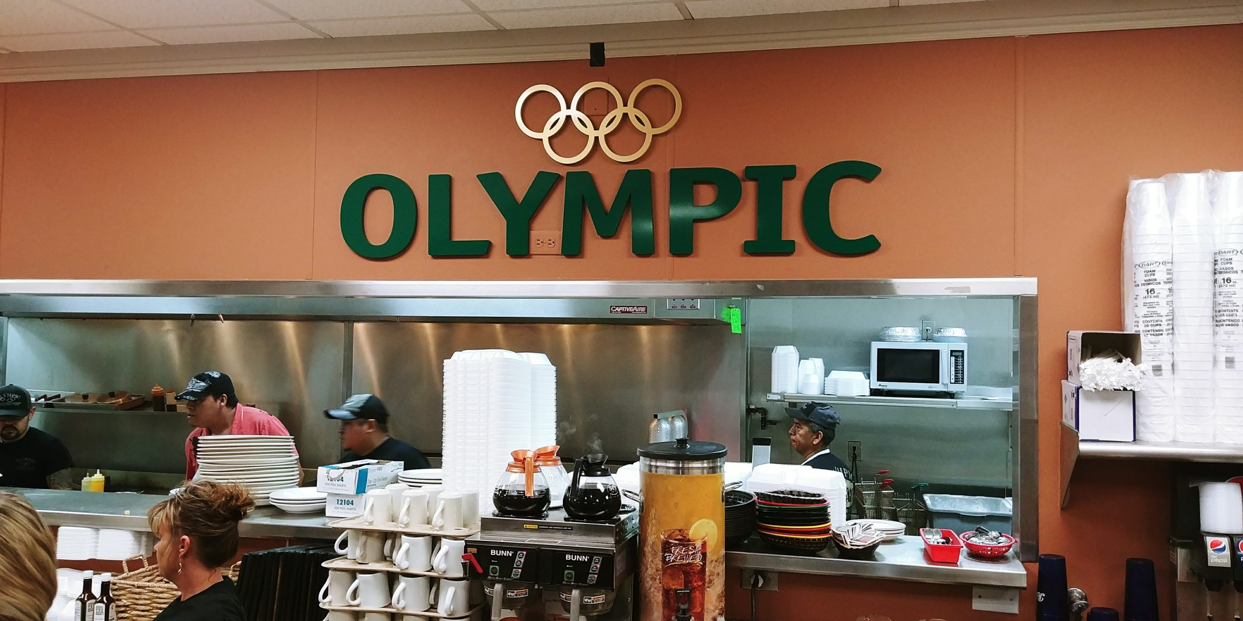 Olympic_restaurant_wall_lettering_display